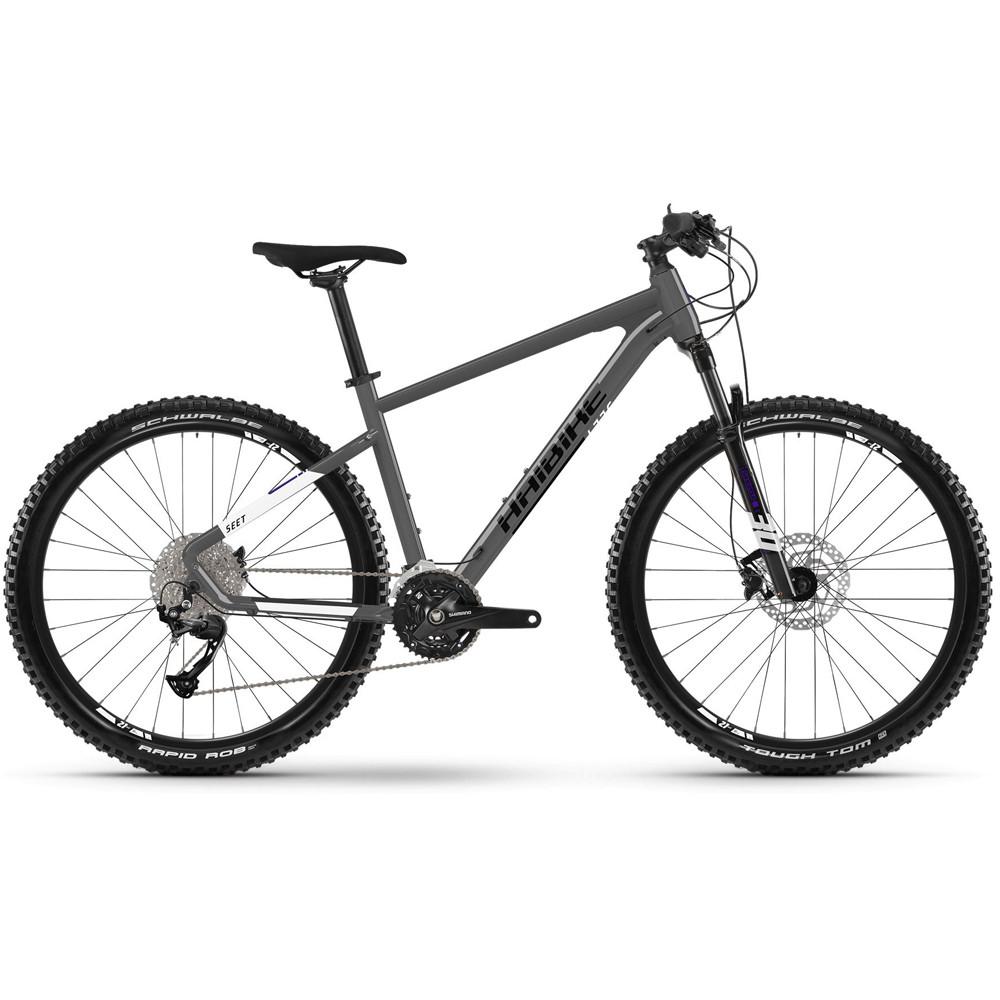 """Велосипед Haibike Seet 8 29"""" 18-G Altus, рама L, чорно-білий, 2021"""