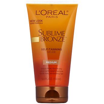 Гель-автозагар L'Oreal Paris Sublime Self-Tanning Gelee Medium Natural 150 мл