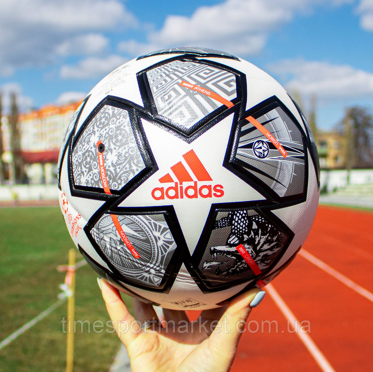 Футбольный мяч Adidas Finale 21 20th Anniversary UCL League