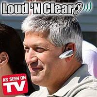 Слуховий апарат — Підсилювач звуку LOUD-N-CLEAR, фото 1