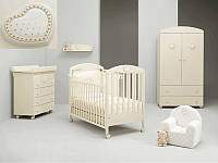 Комплект мебели для детской комнаты MIBB Cuore Cream