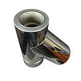Фабрика ZIG Трійник 45° для димоходу ø 110/180 н/н 0,8 мм, фото 4