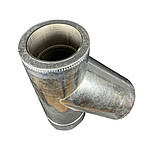 Тройник 45° для дымохода ø 250/320 н/оц 0,6 мм, фото 4