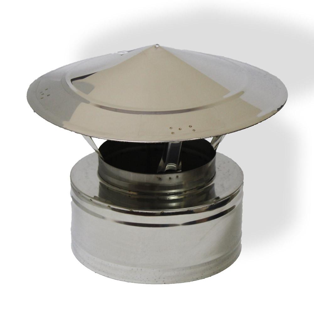 Грибок двустенный ø 140/200 н/н 0,6 мм
