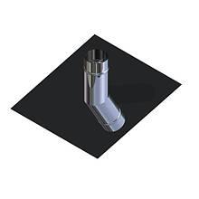 Крыза для дымохода нержавейка D-130 мм толщина 0,6 мм