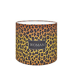 Капелюшна коробка 16х14 см Woman - леопард