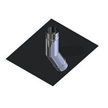 Крыза для дымохода нержавейка D-230 мм толщина 0,6 мм