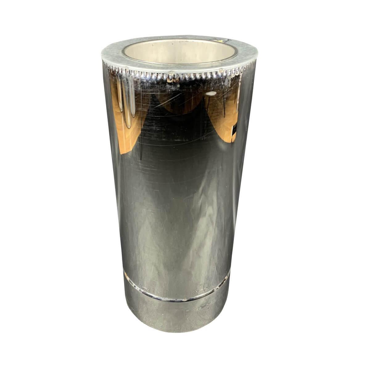 Труба дымоходная 0,5 м ø 230/300 н/н 0,6 мм