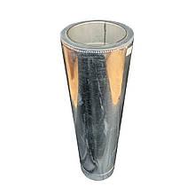Труба дымоходная 1 м ø 120/180 н/оц 0,6 мм