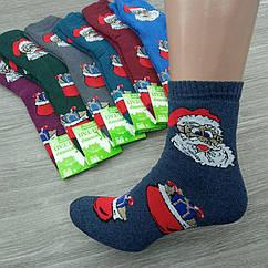 Женские махровые носки зимние Дед Мороз и подарки 23-25 случайное ассорти ТОП-ТАП ЖИТОМИР 30032004