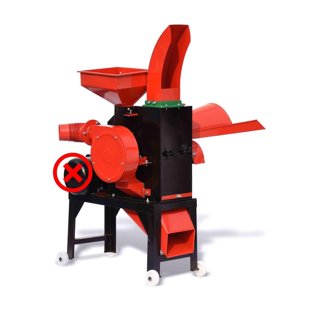 Подрібнювач кормів (зернодробарка, ДКУ) Tehnomur MS 400-24T (OH 400-24T) з турбіною (без двигуна)