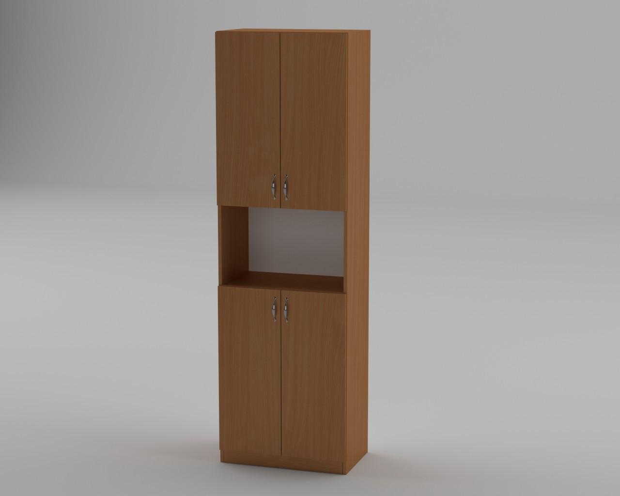 """Шафа пенал для книг та документів """"КШ-5""""/ ширина 60 см з відкритою нішею / МФ Компаніт"""