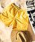 Шорты хамелеон для плавания, пляжные мужские спортивные меняющие цвет жёлтые с рисунком размер M код 26-0002, фото 3
