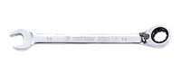 Ключ комбинированный 9мм с  трещоткой