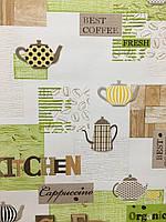 """Обои виниловые на бумаге,""""Ланч"""" 5791-04, супер мойка для кухни, ванной, прихожей и др. помещений 0,53*10"""