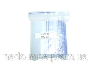 Пакеты Струна Zip-Lock 70х100, 100 шт./уп.