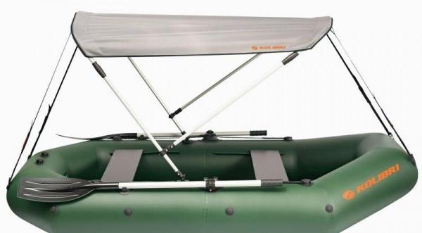 Тент для лодок Kolibri КМ-300, КМ-330, KM-300D, KM-360D, КМ-300DL, КМ-330DL, КМ-330DSL, KM-360DSL камуфляжный
