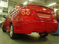 Задний бампер для Chevrolet Aveo 2 2006-11, фото 1
