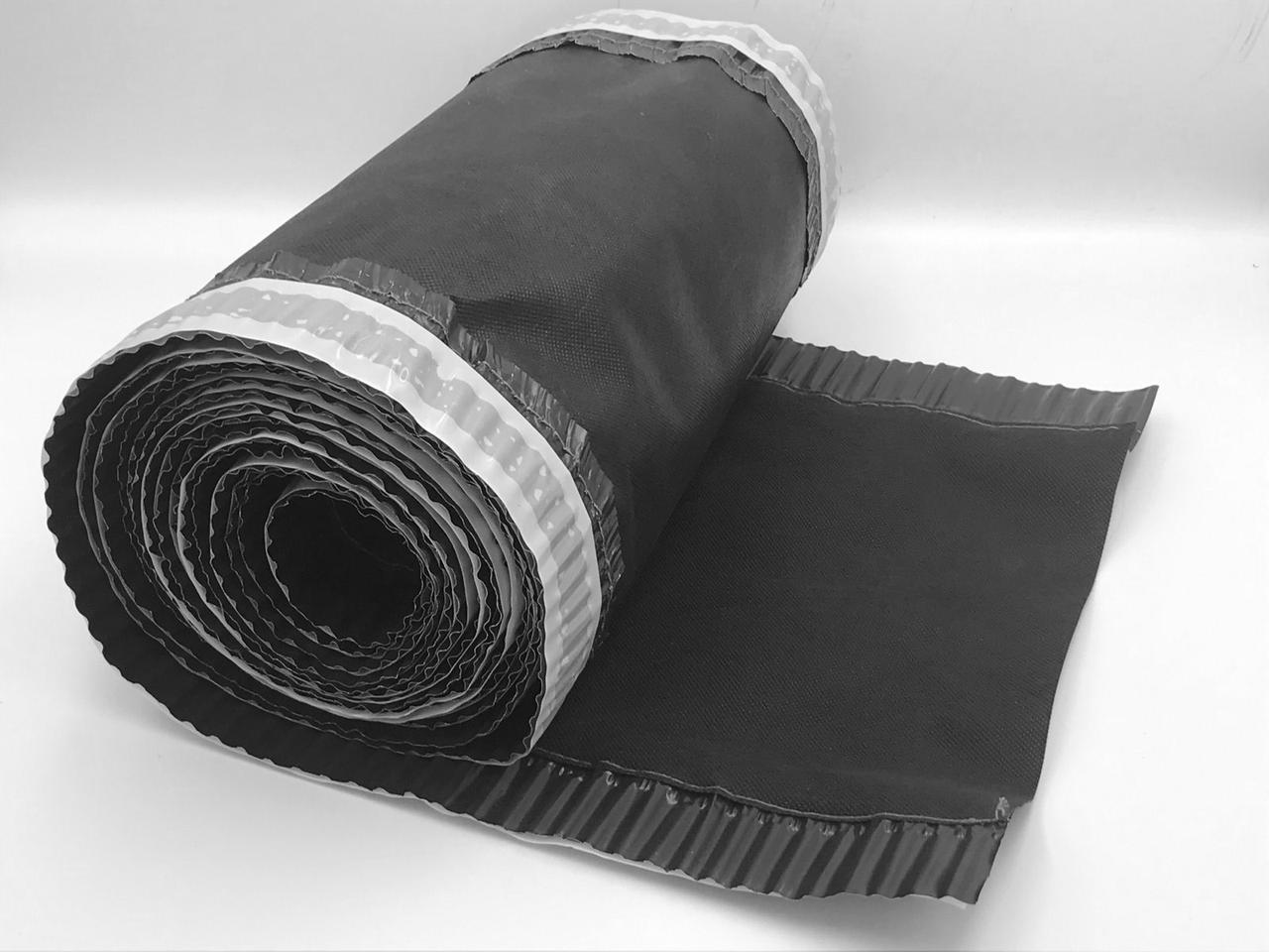 Конькова вентиляційна стрічка ARSENAL D 240 мм, 5 м (Чорна)