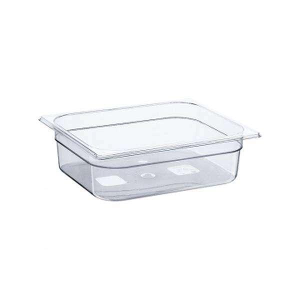 Гастроємність для подачі полікарбонат кухонні місткість GN 1/2, h-100 мм, Stalgast 142101