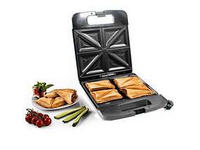 Сендвичница-тостер на 4 скибочки Потужність 1400 Вт MS-7718 ТМ Domotec