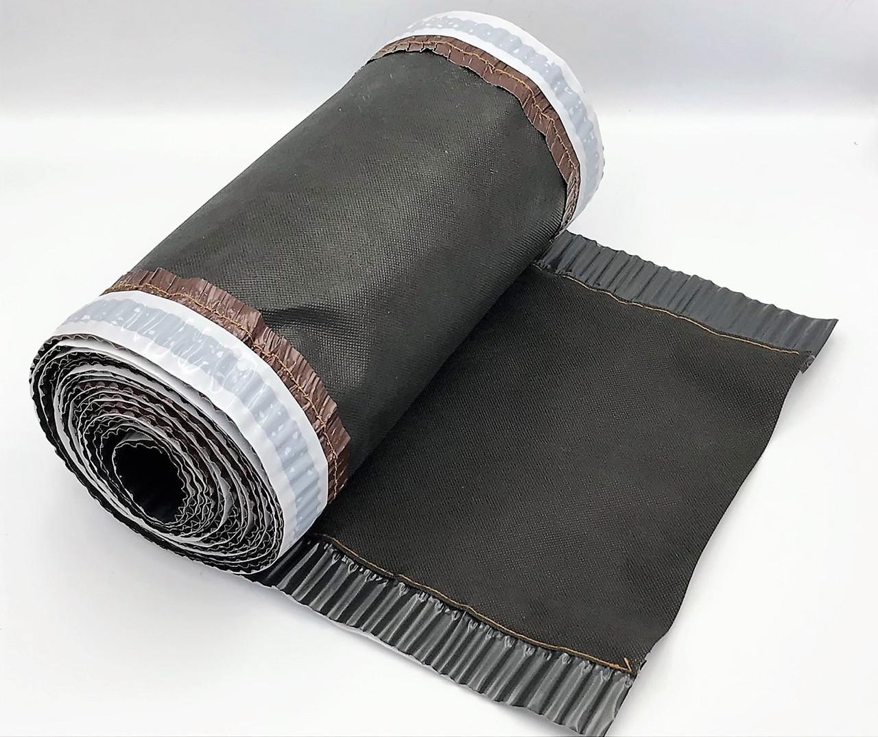 Коньковая вентиляционная лента ARSENAL D 310 мм, 5 м (Черно-Серая)