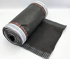 Конькова вентиляційна стрічка ARSENAL D 310 мм, 5 м (Чорно-Сіра)