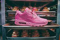 Женские кроссовки Nike Air Max 90 розовые AT-131