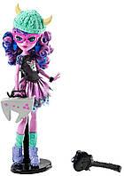 Кукла Монстер Хай Кьерсти Троллсон серия Монстры по обмену, Школьный обмен Brand-Boo Students Kjersti Trollson