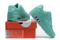 Женские кроссовки Nike Air Max 90 бирюза AT-132