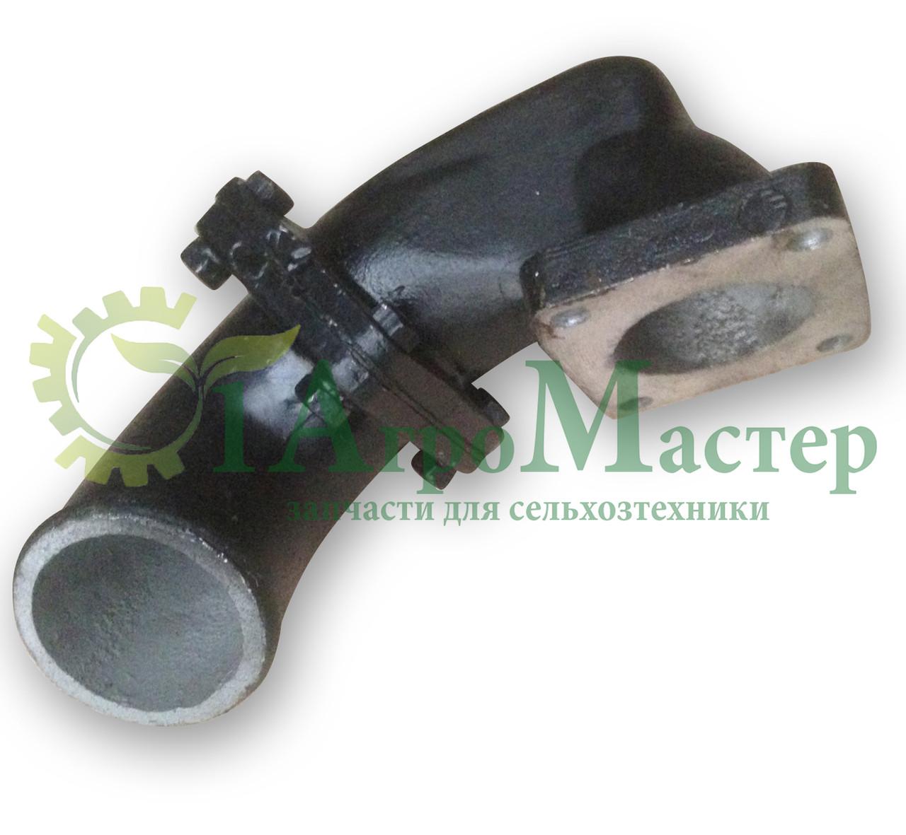 Патрубок нижний бачка радиатора Т-150, СМД-60 в сборе 150У.13.017