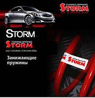 Занижающие пружины — Hyundai Accent (STORM)