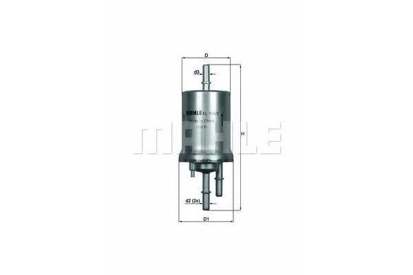 Фильтр топливный Knecht KL156/3
