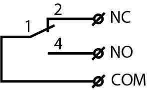 Мікровимикач D4MC-1020 АСКО, фото 2