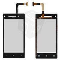 Touchscreen (сенсорный экран) для HTC Windows Phone 8X C620e, оригинал (черный)