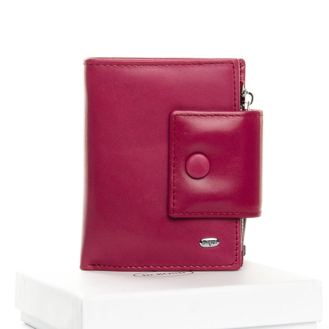 Кошелек Classic кожа DR. BOND WS-5 plum-red