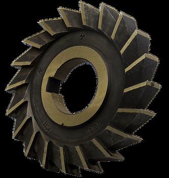 Фреза дисковая трехсторонняя 100х10х32 Р6М5, прямой зуб, ГОСТ 28527-90