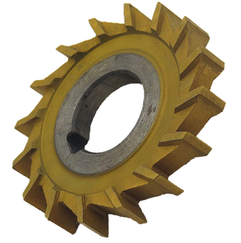 Фреза дисковая трехсторонняя 110х12х27 Р6М5 прямой зуб, ГОСТ 28527-90
