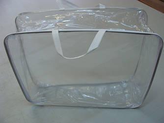 Упаковка для одеял, детских наборов, жесткий металлический каркас (610х480х240мм) ПВХ 90
