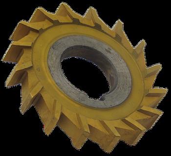 Фреза дисковая трехсторонняя 160х10х32 Р6М5 прямой зуб, ГОСТ 28527-90
