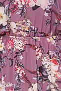 / Размер 54,56,58,60 / Женское нежное красивое платье свободного силуэта / Кайли цвет сирень, фото 3