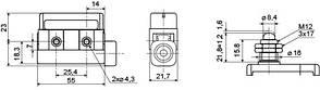 Мікровимикач D4MC-5000 АСКО, фото 3