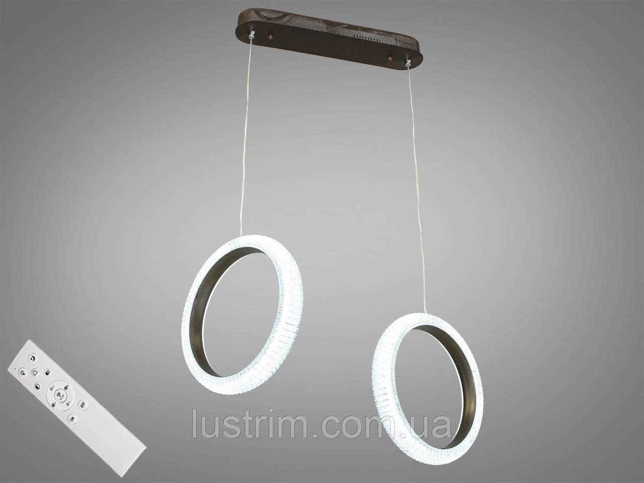 Современная светодиодная люстра с диммером, 40W