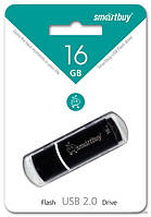 USB Flash - накопитель Smartbuy 16GB Crown Black