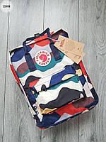Портфелі та рюкзаки Fjallraven Kanken Fjall Raven в школу. Рюкзак Канкен кольоровий 2021. Портфель для школи 16л
