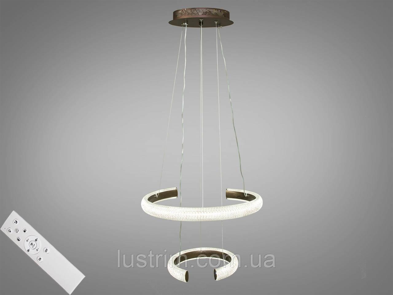 Современная светодиодная люстра с диммером, 45W