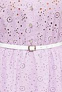 / Розмір 54,56,58,60 / Жіноче красиве бавовняне плаття / Лідія колір бузок, фото 2