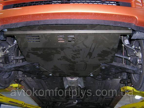 Металлическая (стальная) защита двигателя (картера) Kia Picanto (2004-2007) (V-1.1)
