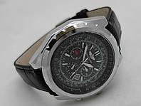 Мужские часы BREITLING for Bentley - кварцевые, корпус серебристый, циферблат черный