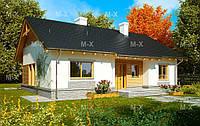 MS108 – строительство маленького дома 120кв.м., фото 1
